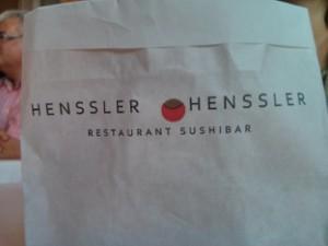 Restaurant Henssler Henssler