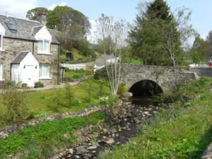Cottage bei Edradour